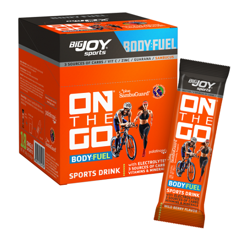 Big Joy Sports ONTHEGO Drink Orman Meyveli 30 Gr 18 Şase