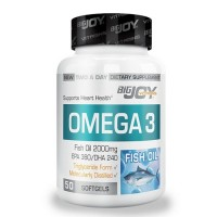 Big Joy Vitamins Omega 3 50 Kapsül