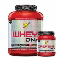 BSN DNA Series Whey Protein 1780 Gr + BSN DNA Series Creatine 216 Gr