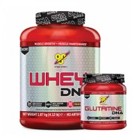 BSN DNA Series Whey Protein 1870 Gr + BSN DNA Series Glutamine 309 Gr