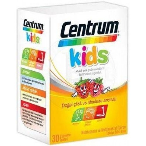 Centrum Kids 30 Çiğneme Tablet