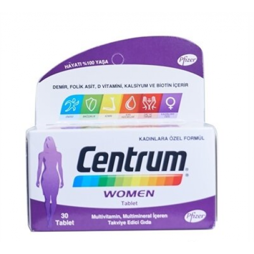 Centrum Women Multivitamin 30 Tablet
