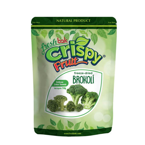 Crispy  Freeze Dried Brokoli 10 Gr