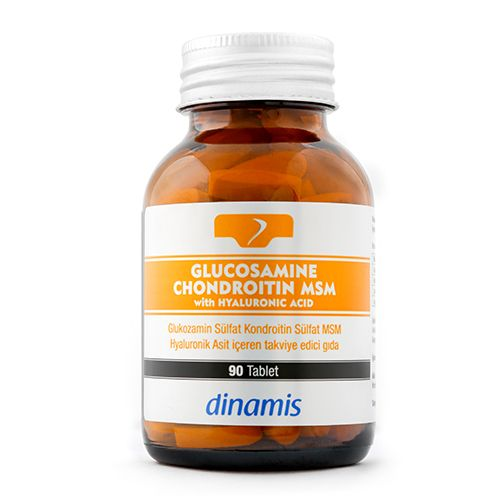Dinamis Glucosamine Chondroitin Msm 90 Tablet