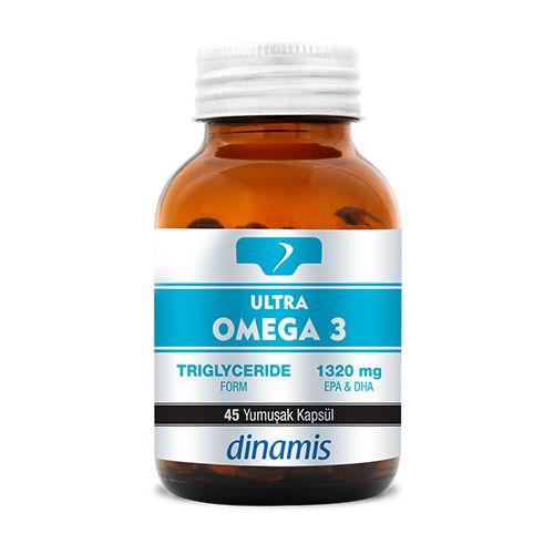 Dinamis Ultra Omega 3 45 Kapsül