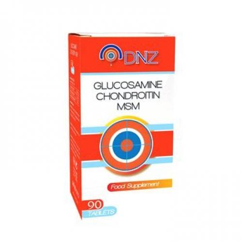 DNZ Glucosamine Chondroitin MSM 90 Tablet