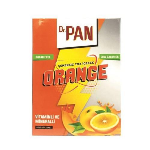 Dr.Pan Şekersiz Portakal Aromalı Toz İçecek