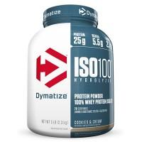 Dymatize Iso 100 Hydrolyzed 100% Whey Protein Tozu 2275 Gr
