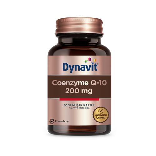 Dynavit Coenzyme Q10 200 Mg 30 Kapsül