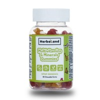 HerbaLand Kids Multivitamins & Minerals Gummies 60 Çiğnenebilir Form
