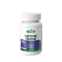 Herbina Caffeine Taurine 200 Tablet