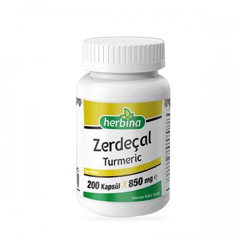 Herbina Zerdeçal Curcumin 200 Kapsül