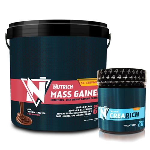 Nutrich Mass Gainer 6000 gr + Nutrich Crearich 200 gr