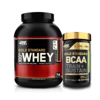 Optimum Gold Standard Whey 2273 Gr + Optimum Gold Standard BCAA 266 Gr