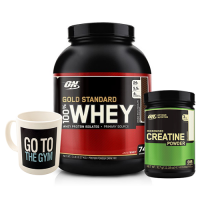 Optimum Gold Standard Whey 2273 Gr + Optimum Creatine 317 Gr