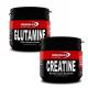 Powerlife Glutamine 150 Gr + Powerlife Creatine 200 Gram