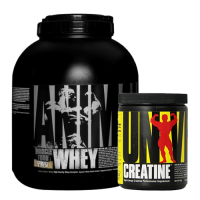 Universal Animal Whey 1810 gr + Creatine Powder 120 Gr Kombinasyonu