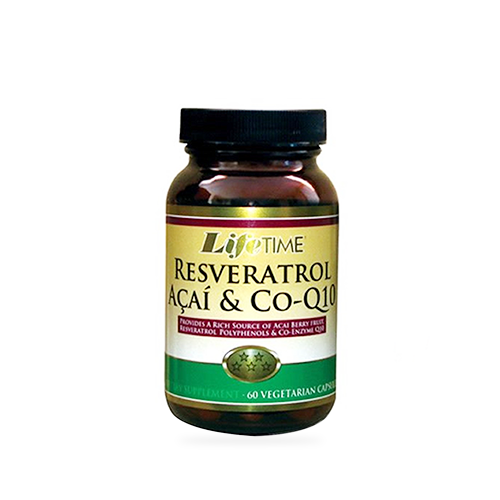 Lifetime Resveratrol Acai Co Q10 60 Kapsül