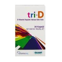 Tri-D D3 Vitamini 30 Kapsül