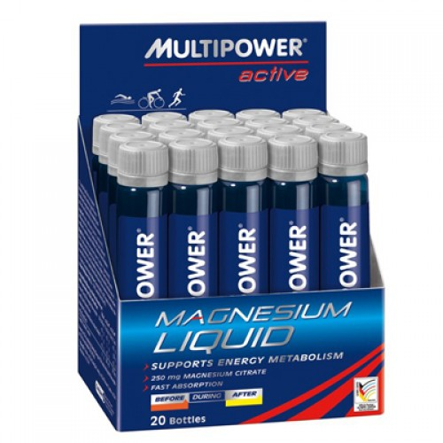 Multipower Magnesium Liquid 20 Ampul