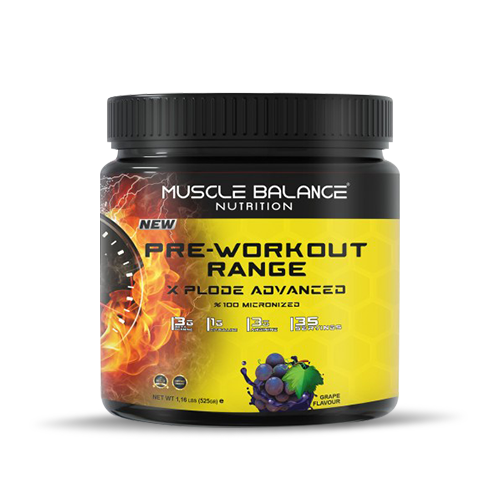 Muscle Balance Nutrition Pre-Workout Range Xplode 525 Gr