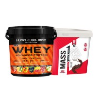 Muscle Balance Nutrition Whey Advanced 3150 Gr + Pro Series Mass Gainer 5000 Gr