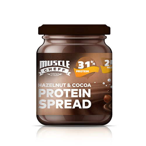 Muscle Cheff Hazelnut & Cocoa Protein Spread 350 Gr