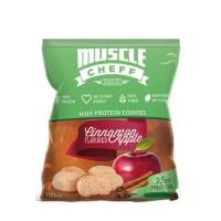 Muscle Cheff Tarçınlı-Elmalı Proteinli Kurabiye 100 GR