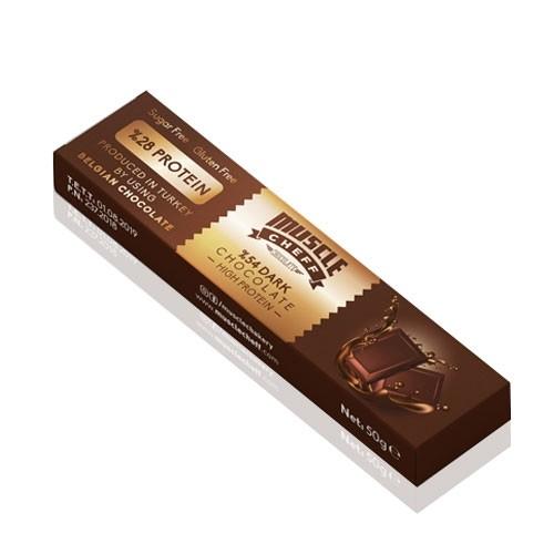 12 x Muscle Cheff Belçika Çikolatası 50 Gr