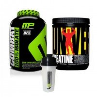 Musclepharm Combat %100 Isolate Protein + Universal Creatine 300 Gr