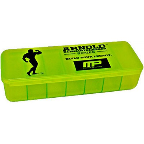 Musclepharm Arnold Serisi Pillbox