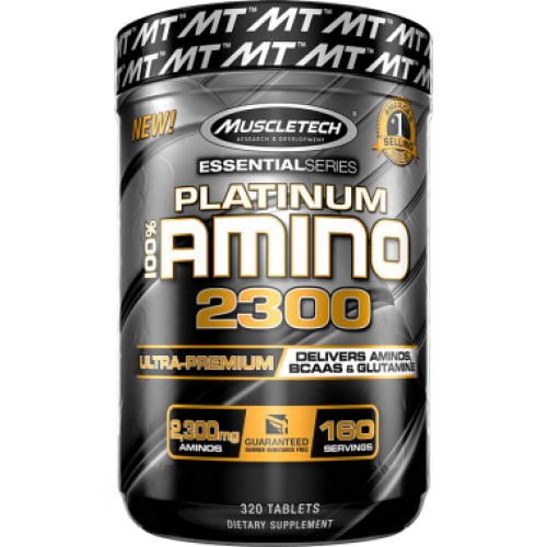 Muscletech Platinum Amino 2300 320 Tablet