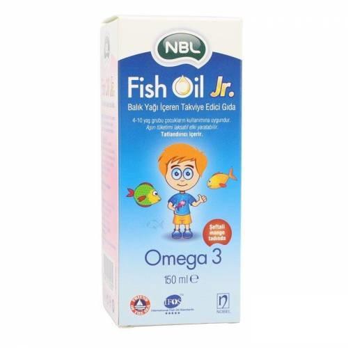 NBL Omega Fish Oil Jr 150 ml