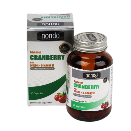 Nondo Advanced Cranberry 30 Kapsül