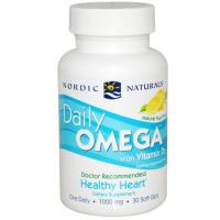 Nordic Naturals Daily Omega 30 Soft Jel