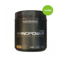 2 x Nutrabolics Amino Power 2000 325 Tablet