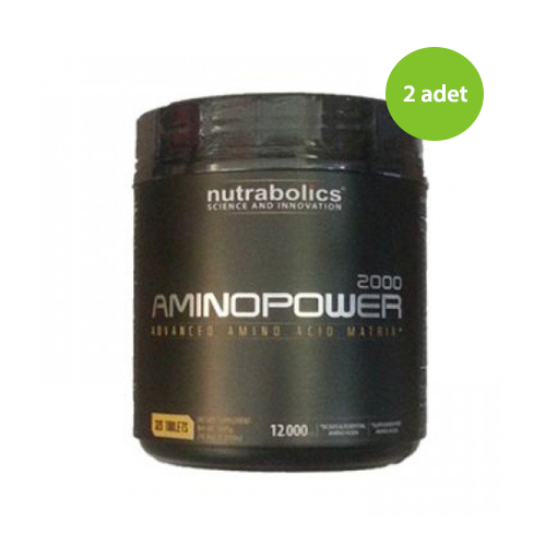 2 x Nutrabolics Amino Power 2000 325 Tablet