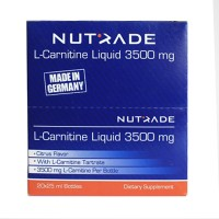 Nutrade L-Carnitine Liquid 3500 mg 20 Ampul