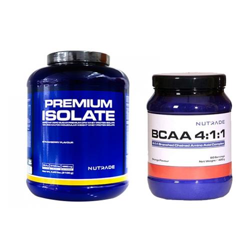 Nutrade Premium Isolate + BCAA Kombinasyonu
