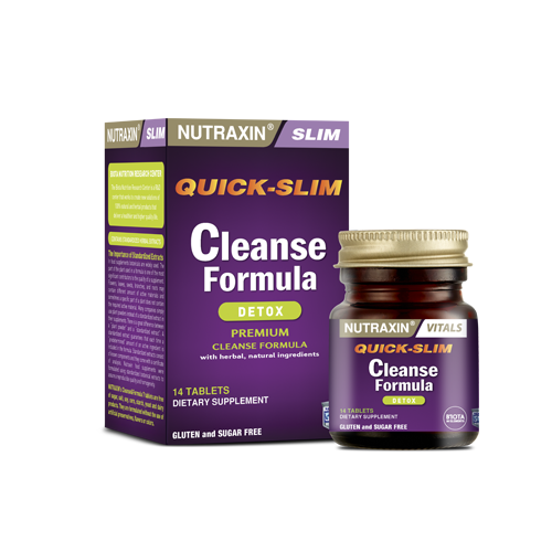 Nutraxin Quick Slim Cleanse Formula 14 Tablet