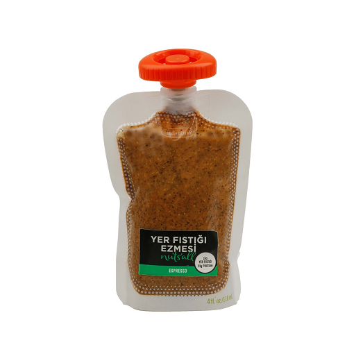 Nuts'all Espressolu Yer Fıstığı Ezmesi 130 Gr