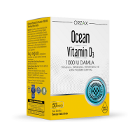 Ocean Vitamin D3 1000 IU Oral Damla 50 Ml