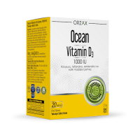 Ocean Vitamin D3 1000 IU Oral Sprey 20 Ml