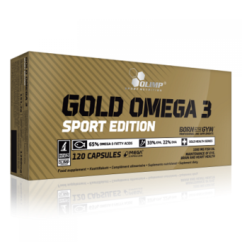 Olimp Gold Omega 3 Sport Edition 120 Kapsül