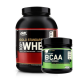 Optimum Gold Standard Whey 2273 Gr + Optimum BCAA 5000 Powder 345 Gr
