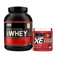 Optimum Gold Standard Whey Protein Tozu 2273 Gr + BSN NO-Xplode XE Edge 225 Gr