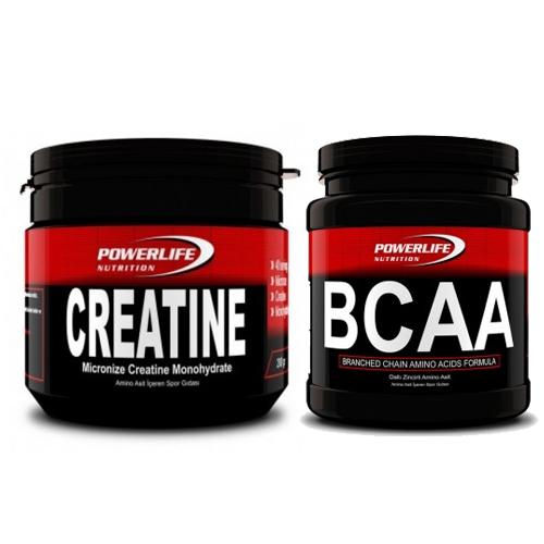 Powerlife BCAA 195 Gr + Powerlife Creatine 200 Gram