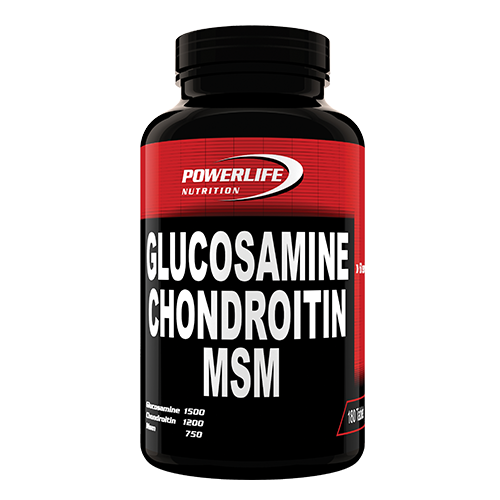 Powerlife Nutrition Glucosamine Chondroitin MSM 180 Tablet