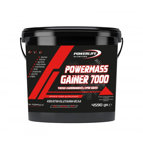Powerlife Nutrition Mass Gainer 4590 Gr