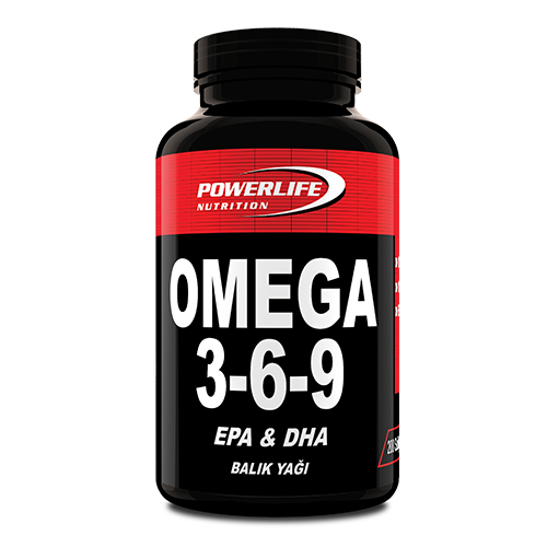 Powerlife Nutrition Omega 3-6-9 200 Softgel